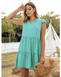 Šaty - kód 696 - tyrkysová