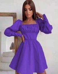 Šaty - kód 8150 - fialová