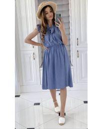 Šaty - kód 701 - modrý