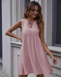 Šaty - kód 0286 - pudrová