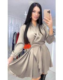 Šaty - kód 5931 - bežová
