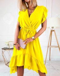 Šaty - kód 8934 - 2 - žltá