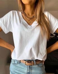 Tričko - kód 4517 - biela