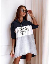 Šaty - kód 9090-2 - farebná