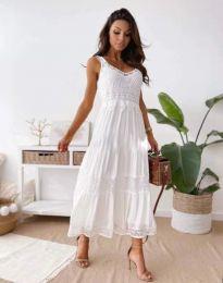 Šaty - kód 4672 - biela