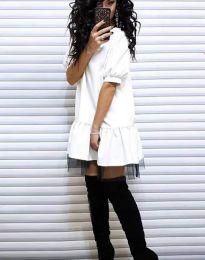 Šaty - kód 2856 - biela