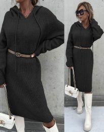 Šaty - kód 6449 - čierná