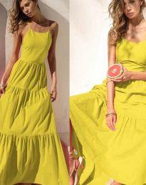 Šaty - kód 2991 - žltá