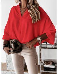 Košeľa - kód 5081 - červená