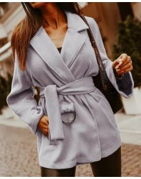 Kabát - kód 8282 - šedá