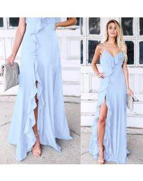 Šaty - kód 4488 - modrá