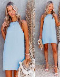 Šaty - kód 2169 - svetlo modrá