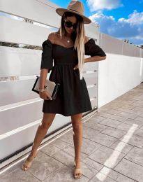Šaty - kód 7413 - čierná