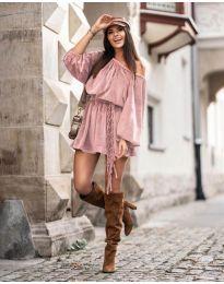 Šaty - kód 324 - pudrová
