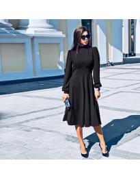 Šaty - kód 4572 - čierná