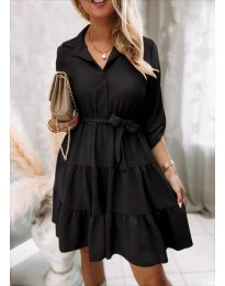 Šaty - kód 6970 - čierná