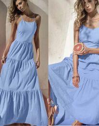Šaty - kód 2991 - svetlo modrá
