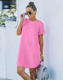 Šaty - kód 38444 - ružová
