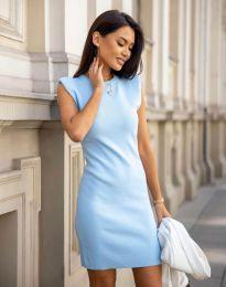 Šaty - kód 10044 - svetlo modrá