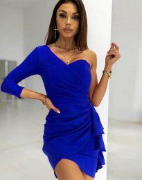 Šaty - kód 5543 - modrá