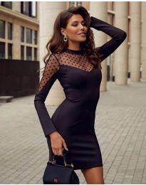 Šaty - kód 2484 - čierná