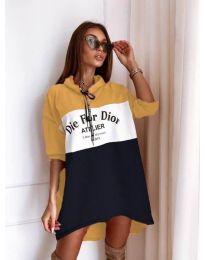 Šaty - kód 9090-7 - farebná