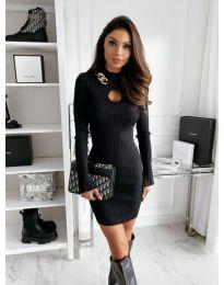Šaty - kód 0771 - čierná