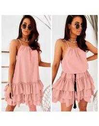 Šaty - kód 451 - ružová