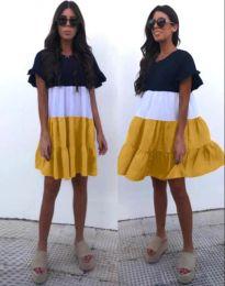 Šaty - kód 1039 - 3 - viacfarebné