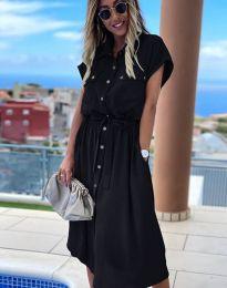 Šaty - kód 6344 - čierná