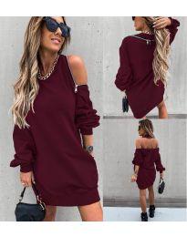 Šaty - kód 296 - bordeaux