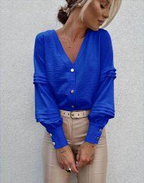 Košeľa - kód 7492 - modrá