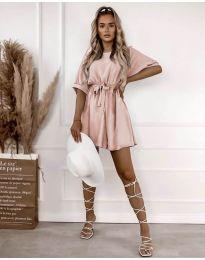 Šaty - kód 13131 - ružová