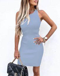 Šaty - kód 6331 - svetlo modrá