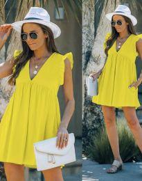 Šaty - kód 7141 - žltá