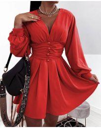 Šaty - kód 4343 - červená