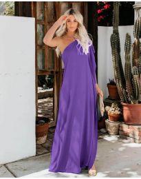 Šaty - kód 6681 - tmavě fialová
