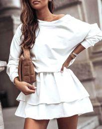 Šaty - kód 0525 - biela