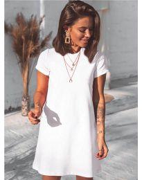 Šaty - kód 2299 - biela