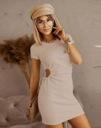 Šaty - kód 8556 - bežová