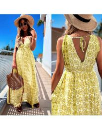 Šaty - kód 675 - žltá