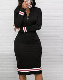 Šaty - kód 3565 - 1 - čierná