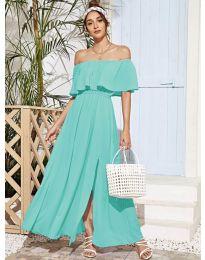 Šaty - kód 698 - tyrkysová