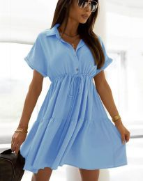 Šaty - kód 6292 - svetlo modrá