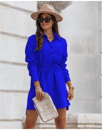 Šaty - kód 132 - modrá