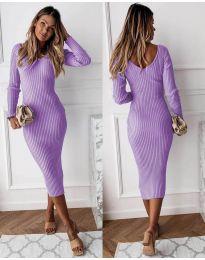 Šaty - kód 928 - fialová