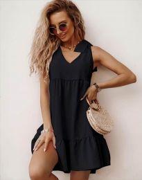 Šaty - kód 7206 - čierná