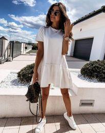 Šaty - kód 11890 - biela