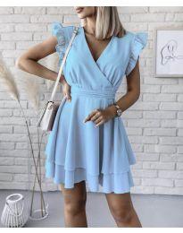 Šaty - kód 409 - modrý