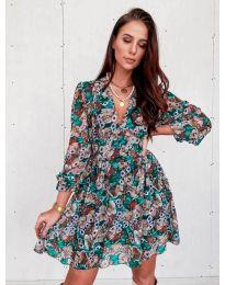 Šaty - kód 3161 - 2 - viacfarebné